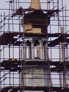 2005 - opravy kostela 1