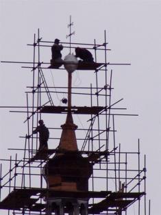 2005 - opravy kostela 4