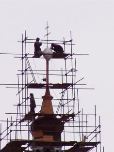 2005 - opravy kostela 6
