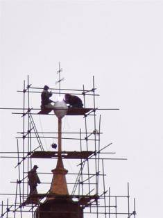 2005 - opravy kostela 7
