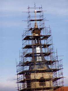 2005 - opravy kostela 12