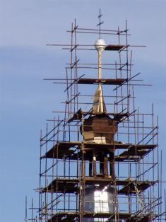 2005 - opravy kostela 14