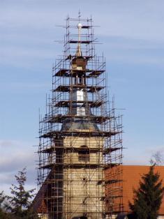 2005 - opravy kostela 15