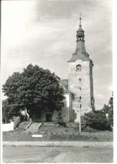 Blížejov - kostel (1970)