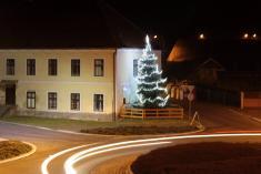 Rozsvícení vánočního stromku 2016